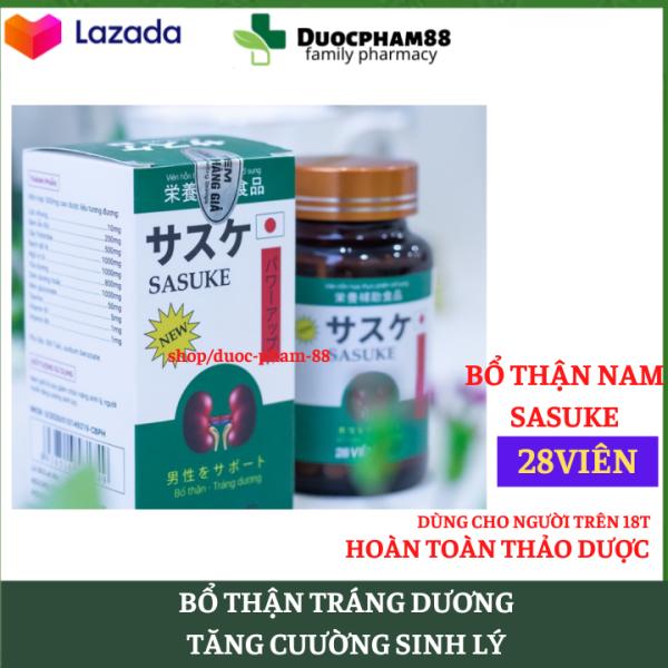 Viên Uống Đông Y Sasuke - Giúp Bổ Thận, Tráng Dương, Tăng Cường Sinh Lý - HSD 2023