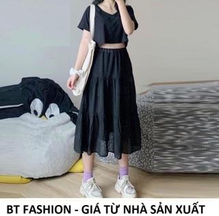 Chân Váy Dài Voan Thời Trang Hot - BT Fashion (VOAN DÀI 3T) VA1 - Có lót bên trong - Mua thêm Áo bên dưới để phối theo bộ thumbnail