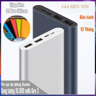 [SẠC DỰ PHÒNG XIAOMI 18W]Pin sạc dự phòng Polymer 10.000mAh Xiaomi Mi 18W Fast Charge Power Bank 3. Bảo Hành 12 Tháng thumbnail