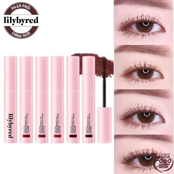 Mascara Siêu Mảnh, Dài và Chống Trôi Lilybyred am9 to pm9 Survival Colorcara 6g giá rẻ