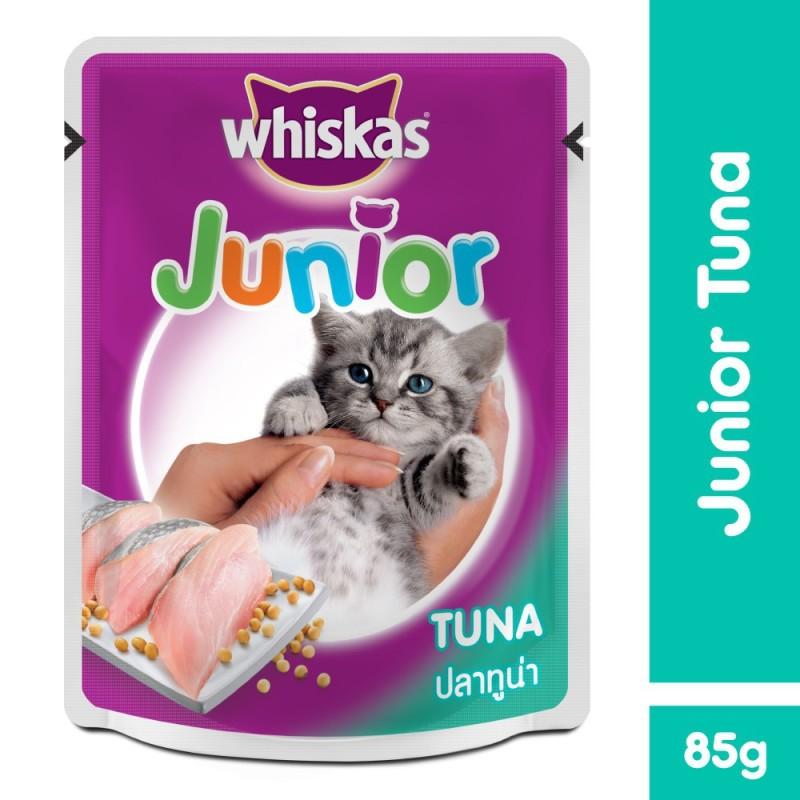 Pate Vị Cá Ngừ Cho Mèo Con Whiskas Junior Tuna 85G