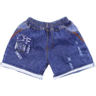 Quần Short Jean bé trai từ 19-36kg - Chất vải mềm mại [ ẢNH THẬT 100% DO SHOP CHỤP ] thumbnail