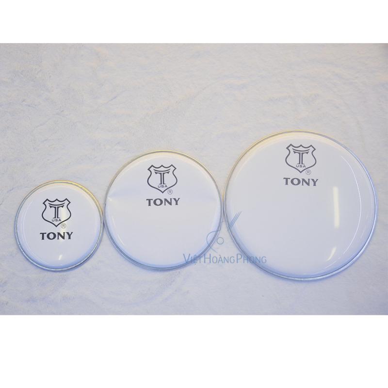 Mặt trống Jazz (màu trắng sữa) thương hiệu TONY - USA - Việt Hoàng Phong