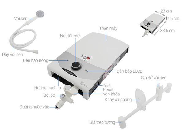 Bảng giá Máy nước nóng Ariston SM45PE-VN Điện máy Pico