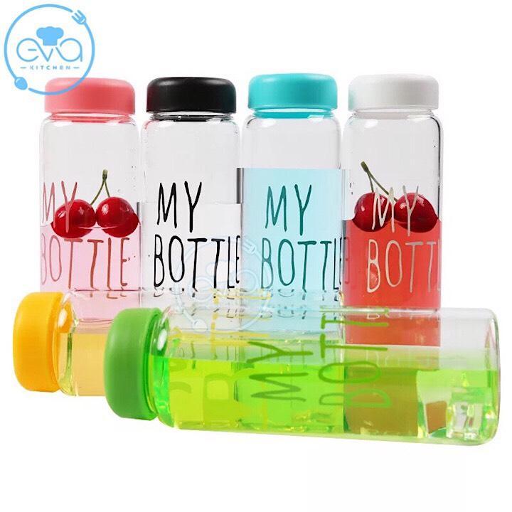 Bình Thủy Tinh Đựng Nước My Bottle 500 Ml Nhật Bản