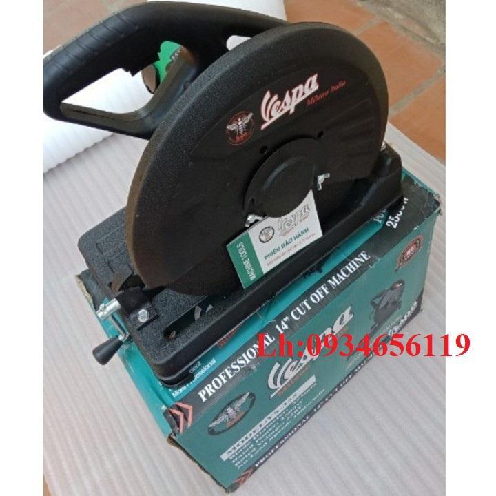 Máy cắt sắt Vespa 355 - máy cắt giá siêu rẻ - máy cắt bền đẹp - tặng lưỡi cắt sắt 355
