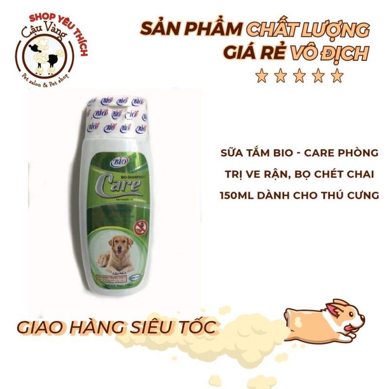 Sữa tắm khử mùi trị ve rận bọ chét Bio Care