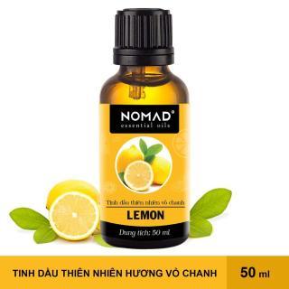Tinh Dầu Thiên Nhiên Nguyên Chất 100% Vỏ Chanh Nomad Essential Oils Lemon 50ml thumbnail