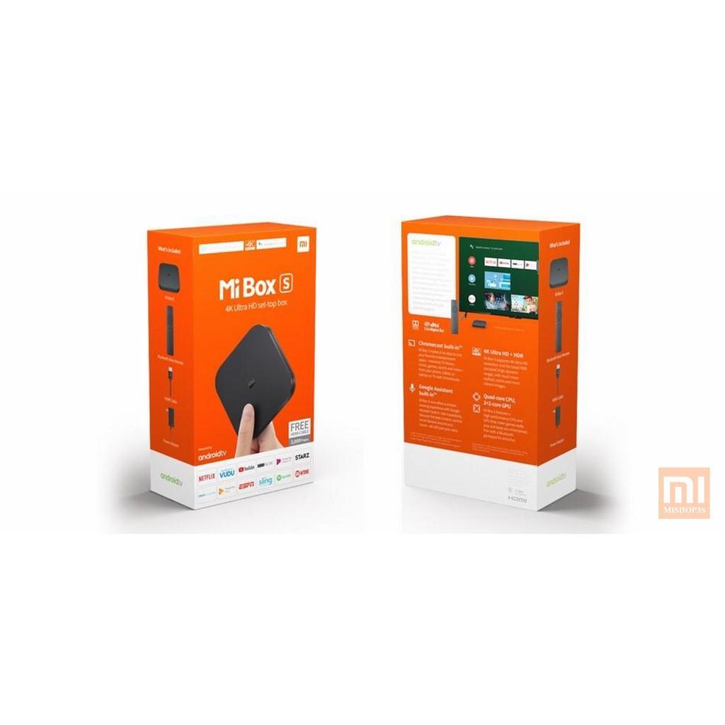Bảng giá Mibox S Xiaomi Global - Điều khiển giọng nói (Phiên bản Quốc Tế)