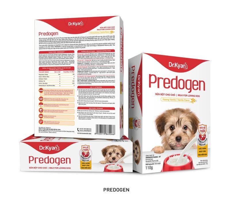 [HCM]Sữa bột cho chó Dr.Kyan PREDOGEN 110g