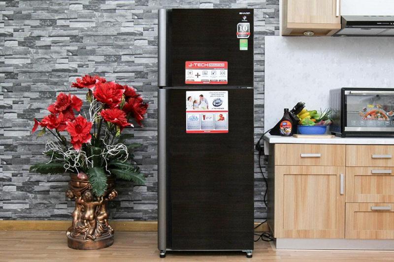 Tủ lạnh Sharp 397lit inverter SJ-XP400PG-BK