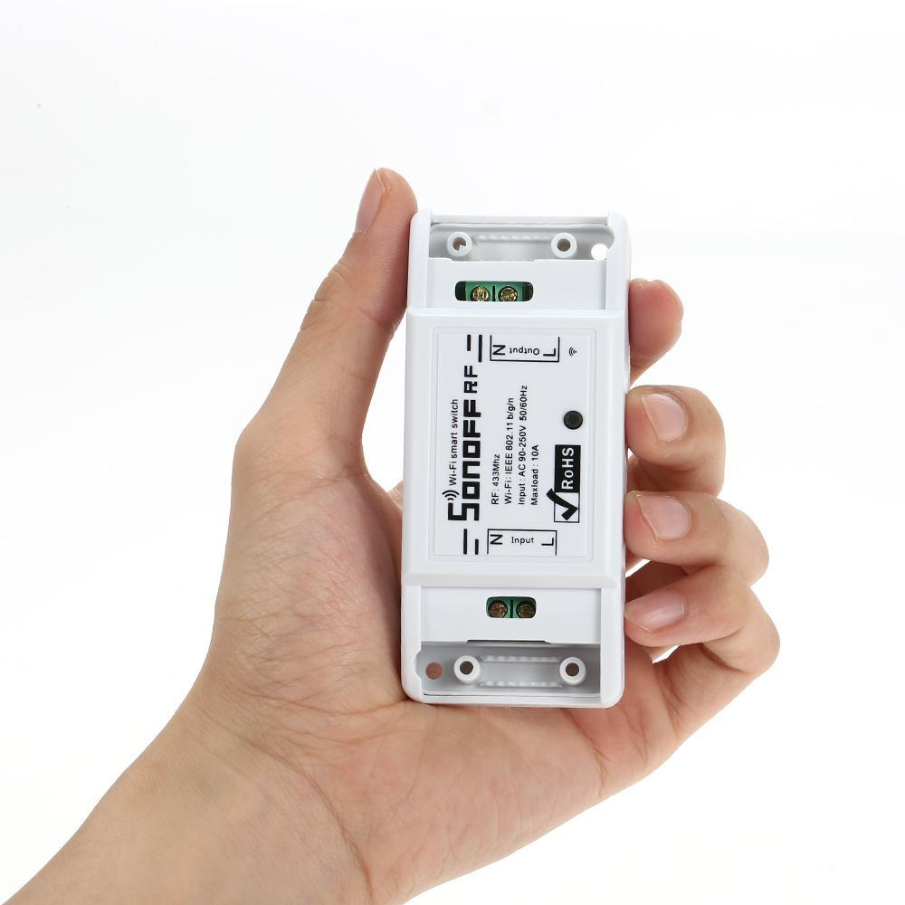 Công Tắc Sonoff Điều Khiển Từ Xa WIFI RF 433Mhz
