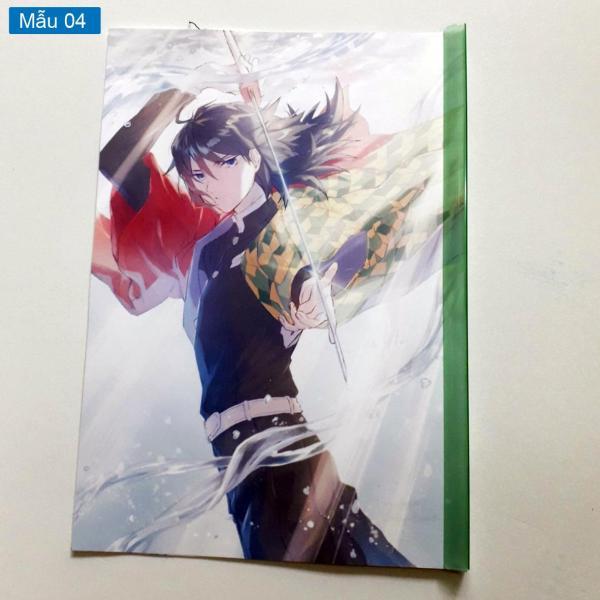 Mua Bìa sơ mi/ Bìa kẹp tài liệu anime Kimetsu No Yaiba/ Thanh Gươm Diệt Quỷ/ Trụ Cột
