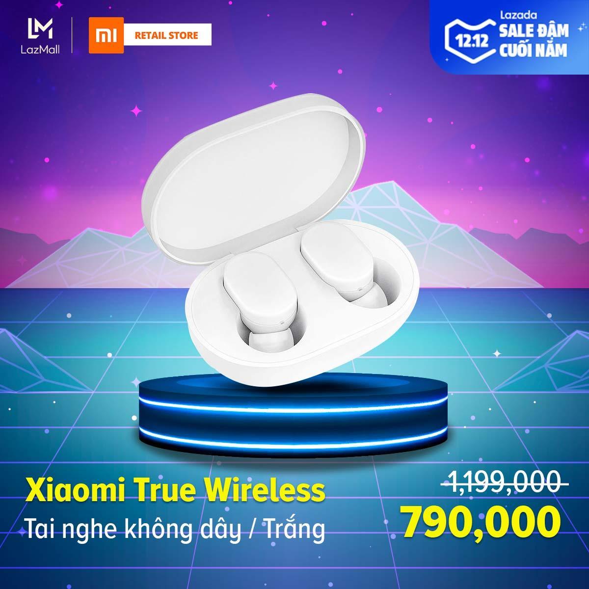 Tai nghe không dây Xiaomi Mi True Wireless Earbuds ZBW4420GL (White)