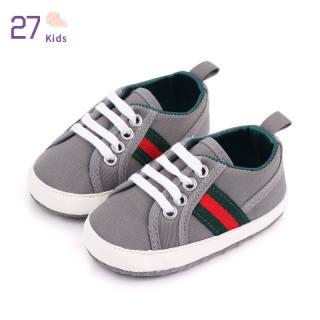 1 Đôi Giày Em Bé 27 Trẻ Em, Giày Trẻ Tập Đi Đế Mềm Nhiều Màu Thoáng Khí Chống Trượt