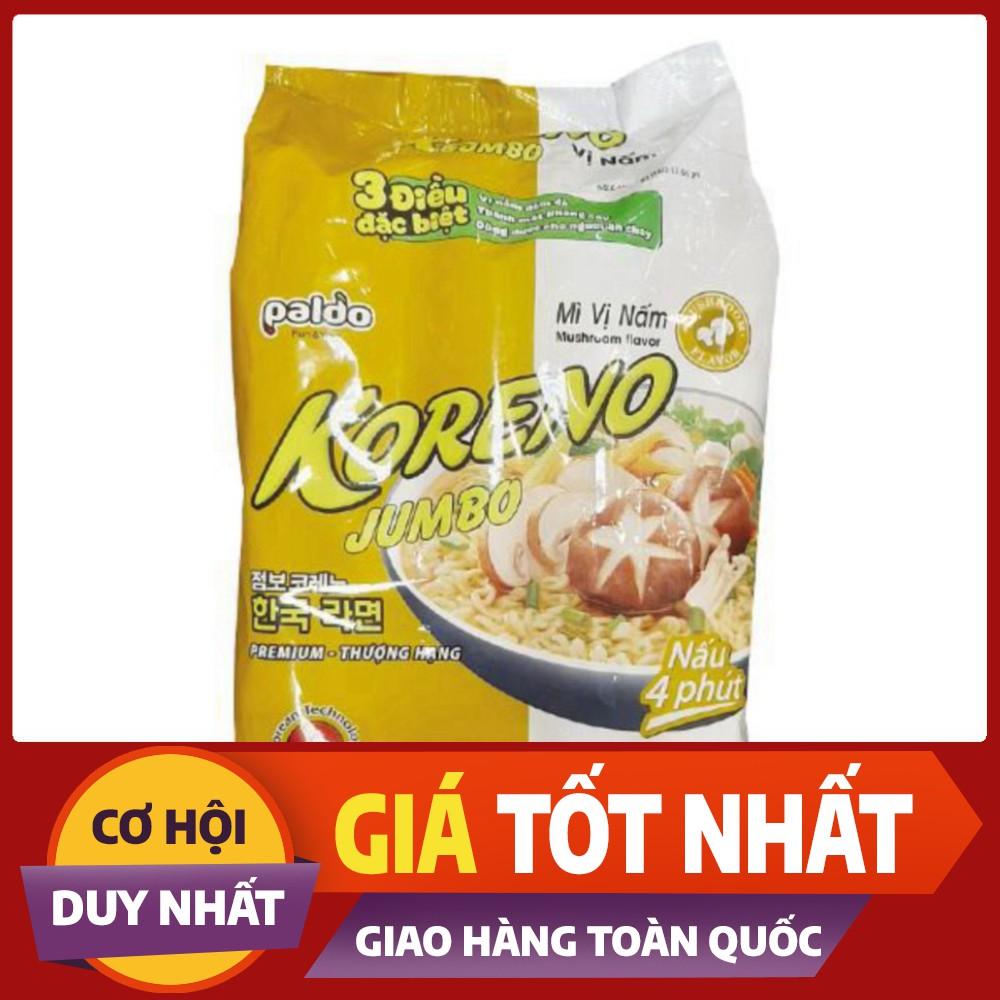 Mì Chay Koreno Jumbo Vị Nấm 10 Gói 100G