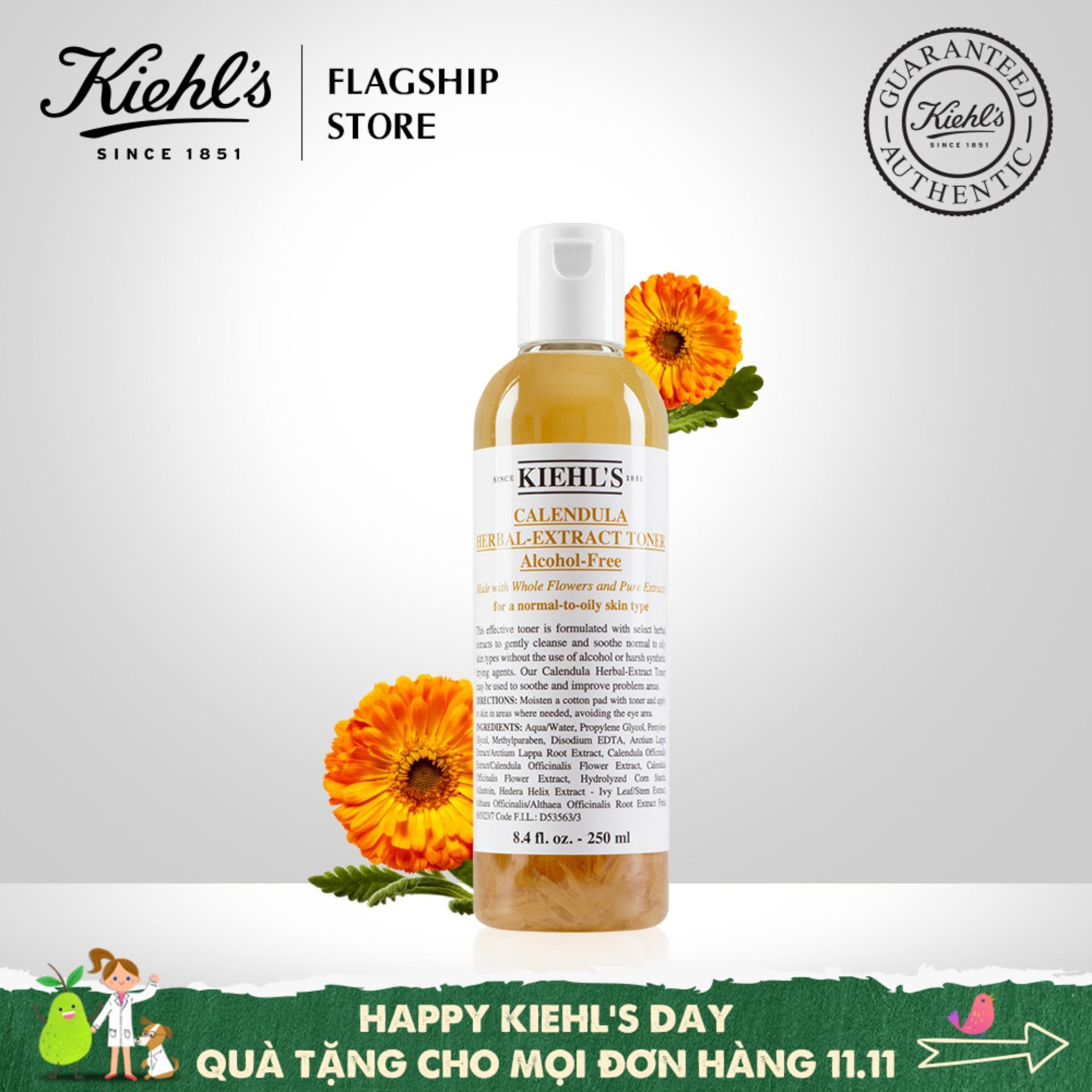 Nước cân bằng Hoa Cúc Kiehls Calendula Herbal Extract Alcohol-Free Toner 250ML tốt nhất