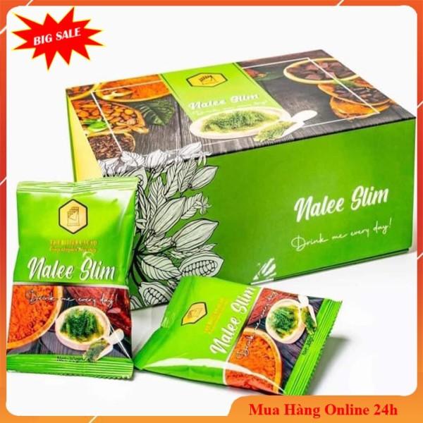 Giảm cân💖💖Caccao Nalee slim mẫu mới [1 hộp 20 gói] giảm cân an toàn hiệu quả - mẫu cũ 1 hộp 15 gói