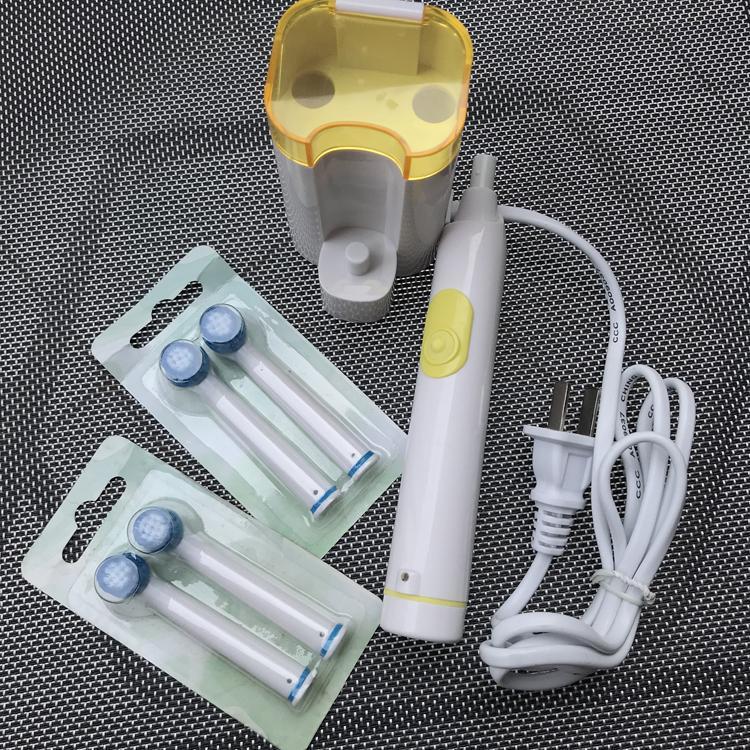 Bàn chải đánh răng tự động sạc pin cao cấp, chống nước dành cho người lớn, bảo hanh 12 tháng HEIMELE
