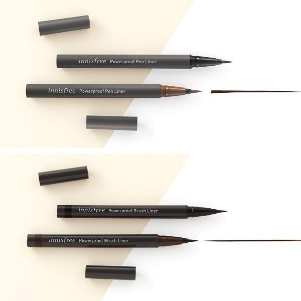 [Lấy mã giảm thêm 30%] Innisfree Powerproof Pen Liner - Bút Kẻ Mắt Chống Nước Đầu Cọ Dày giá rẻ