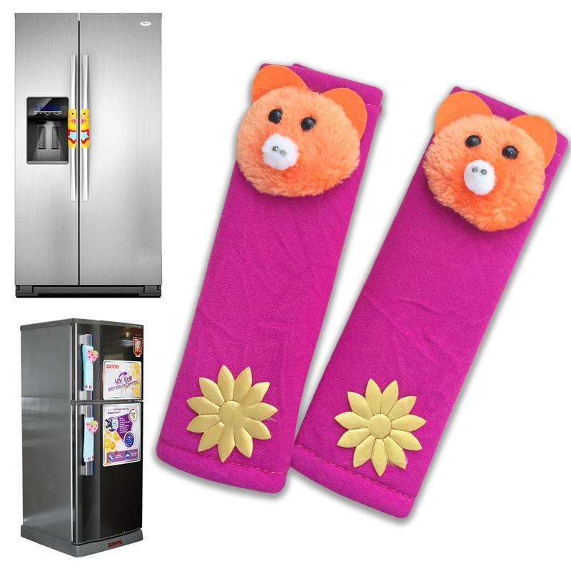 Bộ 2 Tay nắm tủ lạnh hình thú (nhiều mẫu giao ngẫu nhiên)