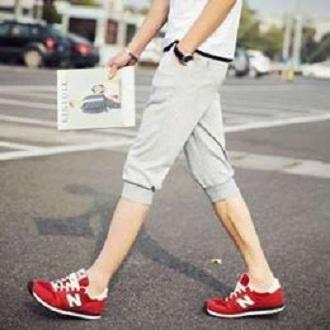 YES FASHION Quần short thun nam bo ống thời trang phong cách Hàn Quốc