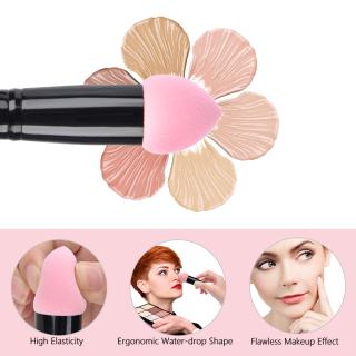 PASTSKY 2-in-1 Makeup Brush 2 Heads Bộ Cọ Cây Cọ Trang Điểm Bộ cọ trang điểm Fix cực mịn cực cute phô mai que cho các nàng thumbnail