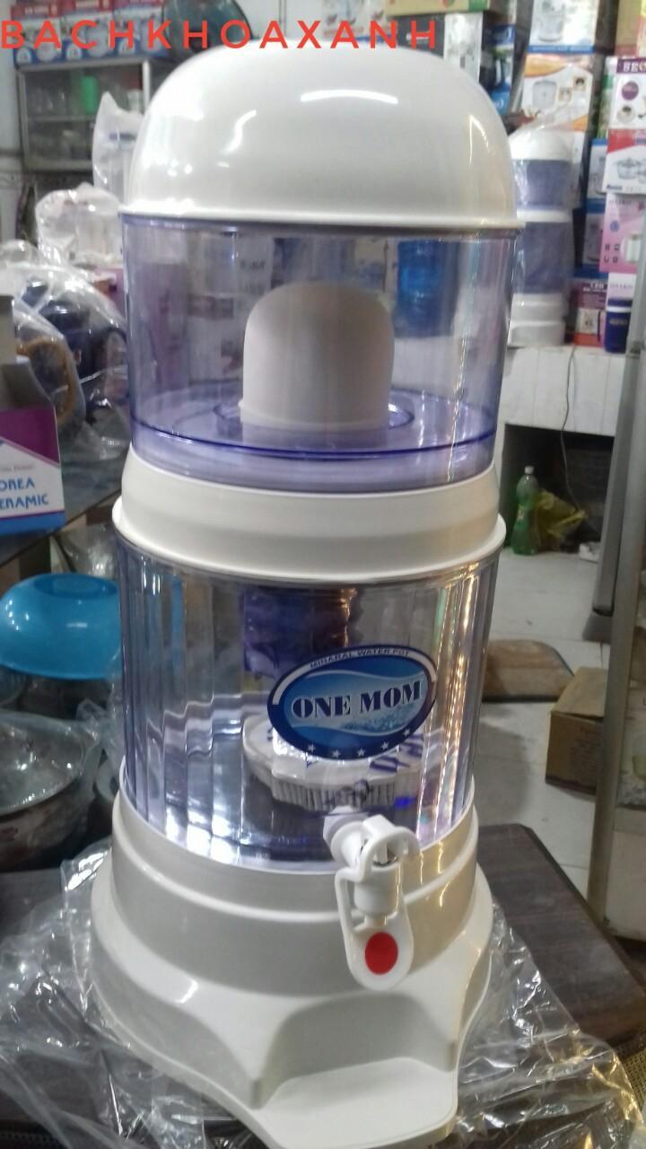 Bình lọc nước uống trực tiếp Hưng Long One Mom 15L