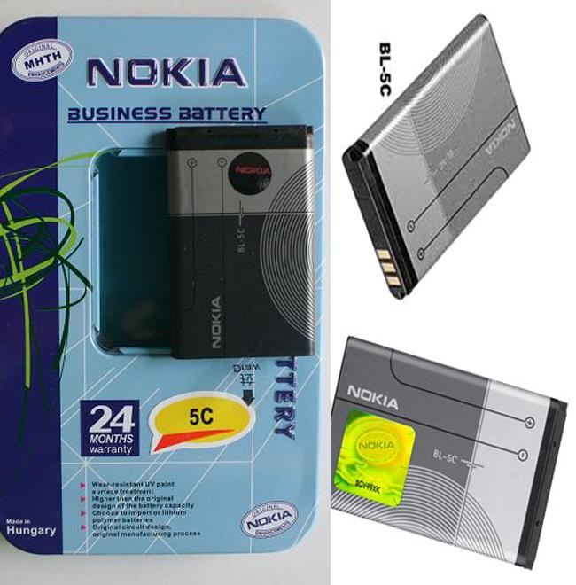 Pin Nokia BL- 5C Dung Lượng 3800mAh (2iC Chống Phù)_Cho Nokia 1280, 1200, 1110i,7610,Cam Kết Giao Đúng Hình, Đang Khuyến Mãi