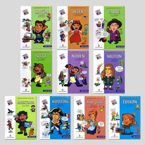 Mua Danh Nhân Thế Giới - Bộ 10 Cuốn Comic
