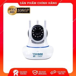 [Nhập ELJAN11 giảm 10%, tối đa 200k, đơn từ 99k]Camera giám sát kết nối Wifi Yoosee 3 Râu Full HD1080P 11 đèn hồng ngoại đàm thoại 2 chiều thumbnail