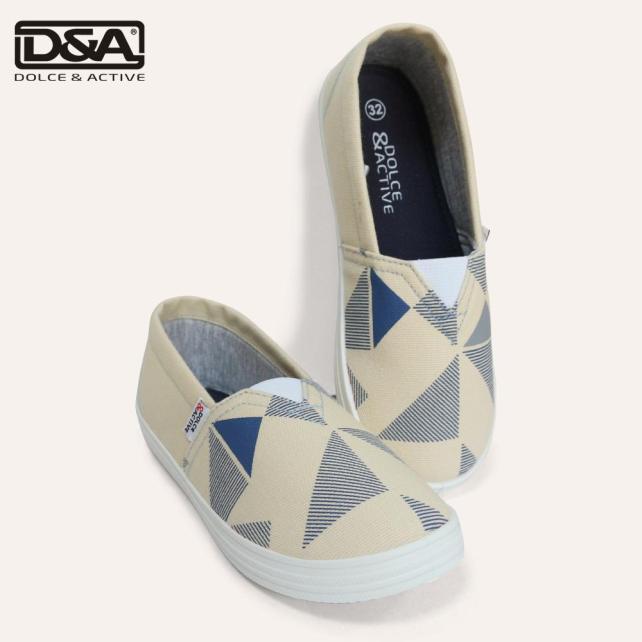 Giày lười trẻ em D&A EP G1945 Mộc giá rẻ