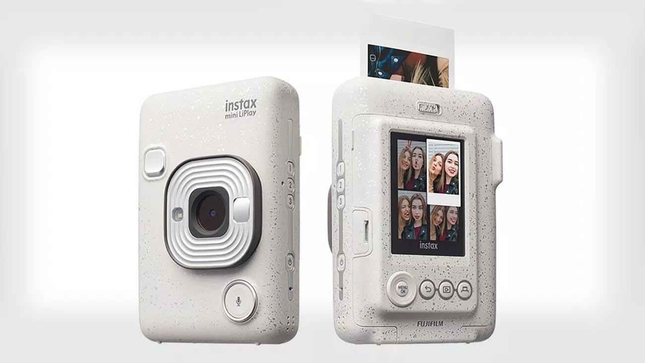 Cơ Hội Giá Tốt Để Sở Hữu Máy ảnh Chụp Lấy Liền Instax Mini LiPlay - Màu Stone White (Chính Hãng Mới 100%) Tặng 1 Pack Film/ 10 Kiểu