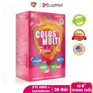 Sữa bột chuyên biệt cho trẻ biếng ăn, chậm cân Mama Sữa Non Colos Multi Pedia Gold Hộp 450g thumbnail