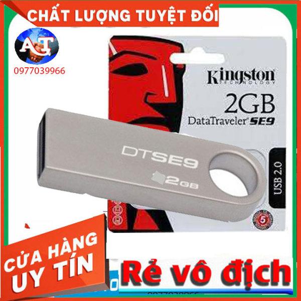Bảng giá USB 2.0 Kingston 2 GB DT SE9 Thiết Kế Nguyên Khối Không Nắp Tiện Lợi Phong Vũ