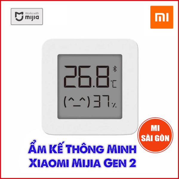 Ẩm kế thông minh Xiaomi Mijia Gen 2 - Đồng hồ đo nhiệt độ, độ ẩm Bluetooth Mijia gen 2