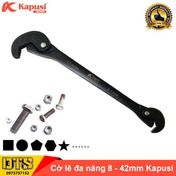 Cờ lê đa năng, mỏ lếch 8-42mm mở nhanh Kapusi, thép cứng CR-V