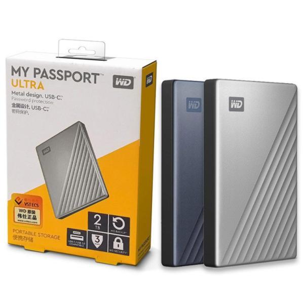 Bảng giá Ổ cứng di động WD My Passport Ultra 4TB 2TB 1TB USB3.0 type-C - bảo hành 3 năm Phong Vũ
