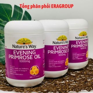 Viên uống hỗ trợ da và nội tiết Evening Primrose Oil Nature s Way - Hộp 200 viên thumbnail
