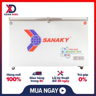 Tủ đông Sanaky Inverter 280 lít VH-4099W3 Chất liệu dàn lạnh Đồng, báo hành 24 tháng chính hãng - giao hàng miễn phí HCM thumbnail