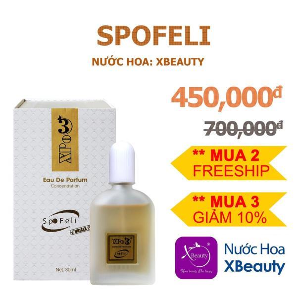 Nước hoa cô đặc Nam Nữ XBeauty XPo3 30ml (Có 10 mùi hương). Nước hoa thơm lâu cả ngày dành cho Nam & Nữ (Unisex)