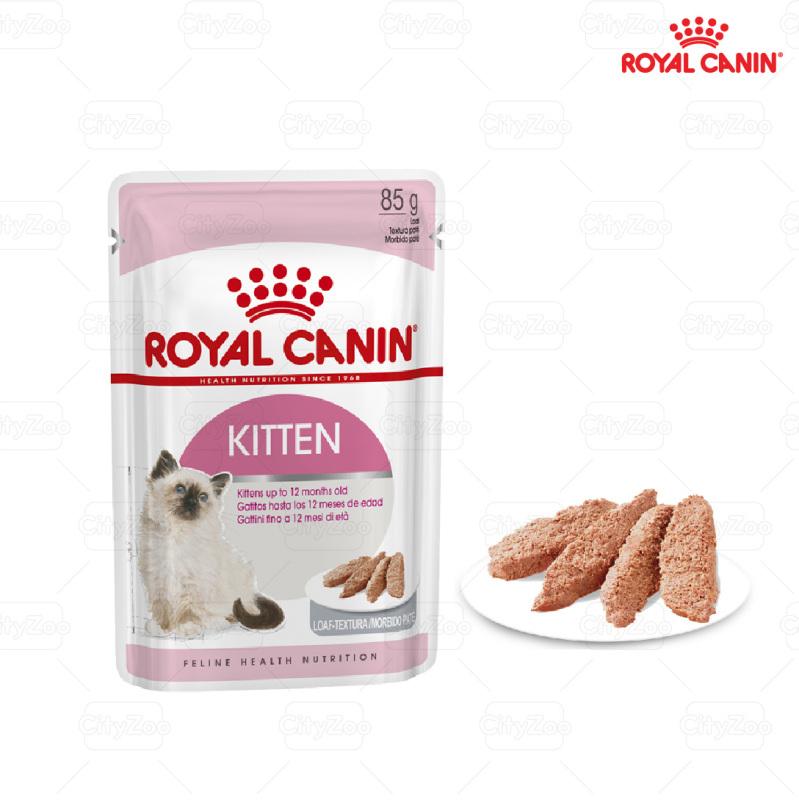 súp pate royal canin kitten dành cho mèo con 85gr - gravy