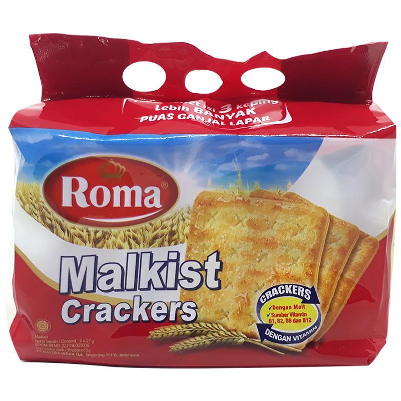 Bánh Malkist Crackers gói 216g