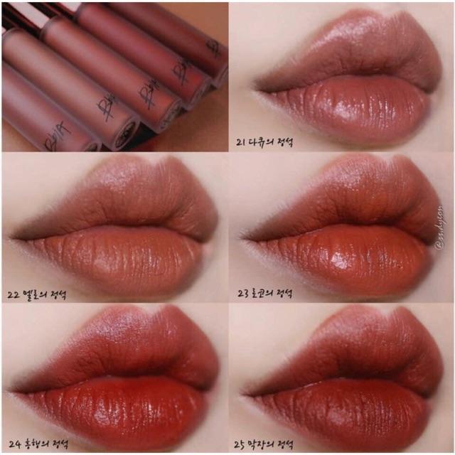 Son kem Bbia Last Velvet Lip Tint Version 3.5 tốt nhất