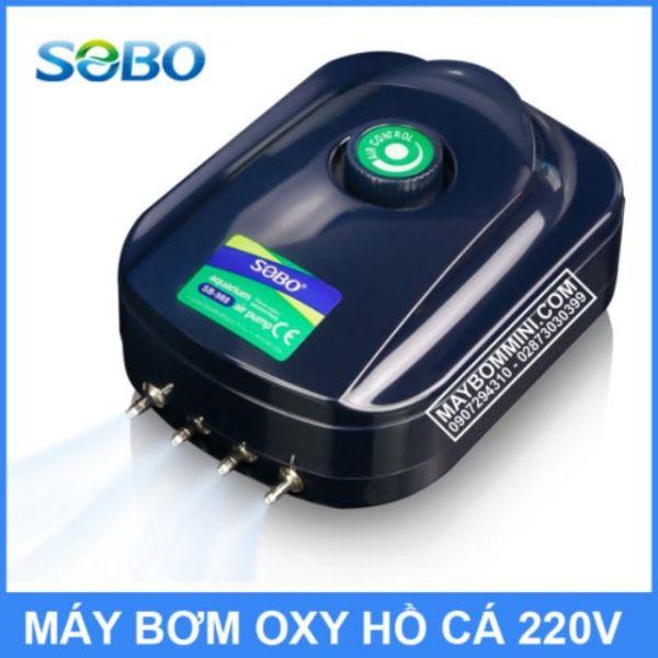Máy sủi khí 4 vòi sobo sb-988. Guppyxanh cam kết hàng đúng mô tả chất lượng đảm bảo an toàn đến sức khỏe người sử dụng đa dạng mẫu mã màu sắc kích cỡ