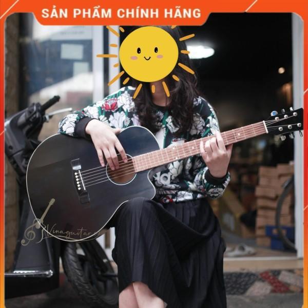 Đàn guitar acoustic VG-SPEM mặt gỗ thịt có ty chỉnh - full phụ kiện- Phân phối chính hãng bởi nhaccu3so