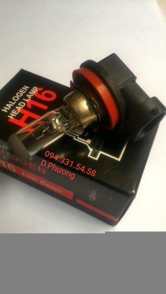 Bóng H16 12V 19W. Bóng đèn ô tô World Light. Chuyên các loại bóng đèn halogen giá sỉ