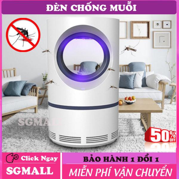 Đèn diệt muỗi - Đèn led bắt muỗi thông minh - Thiết kế màng lọc thông minh thu hút muỗi, Tích hợp đèn led như đèn ngủ, Không có mùi cháy khét