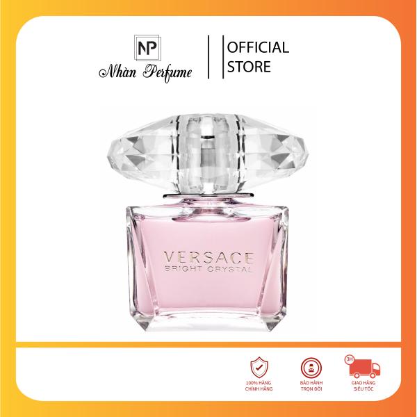 [HCM]Nước hoa nữ Versace Bright Crystal EDT 90ml chính hãng chuẩn Pháp có sẵn
