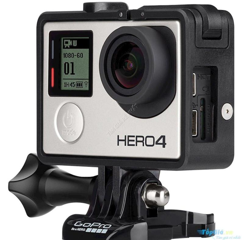 Gopro Hero 4 sliver camera hành trình chống rung, có vỏ chống nước shop Aquahome